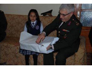 Genelkurmay Başkanından Mektuba Hediyeli Mukabele