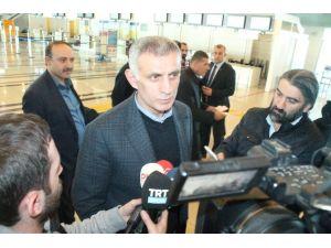 Trabzon Emniyet Müdürlüğü'ne Geldi