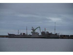 Savaş Gemileri Samsun'da!
