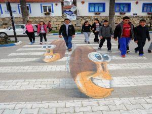 Türkiye'de Bir İlk: 3 Boyutlu Yaya Geçidi