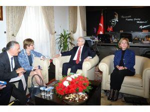 Avrupa Konseyi'nden Kılıçdaroğlu'na Ziyaret