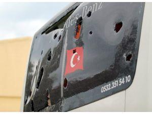 Bu Kez Beşiktaş Otobüsüne Saldırı