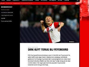 Dirk Kuyt Resmen İmzaladı