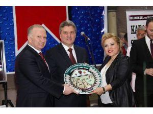 Makedonya Cumhurbaşkanı, Nevşehir'de Şiir Şöleni'ne Katıldı