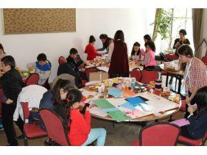 Çocuklar Hayal Ettikleri Çevreyi Anlattı