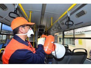 Ankara'da Otobüsler Her Gün Temizleniyor