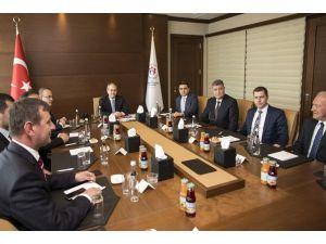 Bakan Kılıç Çanakkale Heyetini Kabul Etti