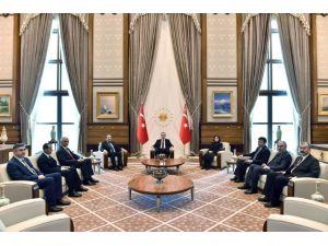 Erdoğan Sayıştay Heyetiyle Görüştü