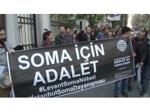 Soma Duruşmasının Ertelenmesini Protesto Ettiler