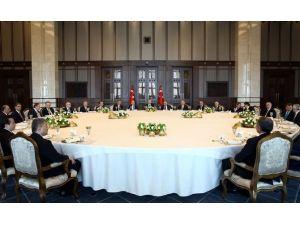Belediye Başkanları Cumhurbaşkanı'na Konuk Oldu