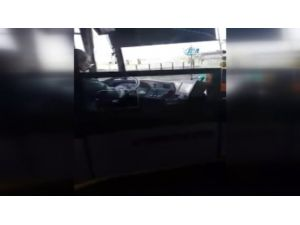 Otobüs Şoförünün Dikkatsizliği Pes Dedirtti