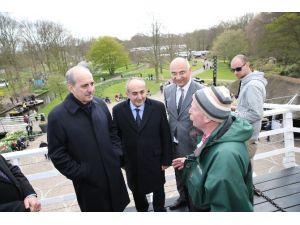 Kurtulmuş Hollanda'da Türk Vatandaşlarla Buluştu