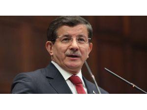 Davutoğlu, Hdp'ye Yapılan Saldırıyı Kınadı
