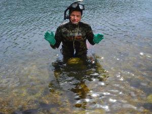 Barış İçin Van Gölü'nü Yüzerek Geçti