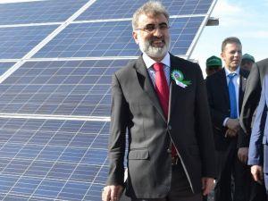 Güneş Enerji Santrali'nin Açılışı Yapıldı