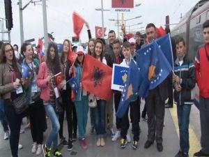 Dünya Çocukları İstanbul'u Gezdi