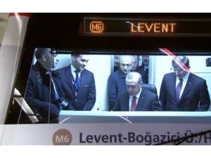 İstanbul'un Yeni Metrosu Açıldı
