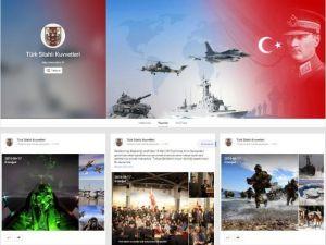 Türk Silahlı Kuvvetleri Artık Sosyal Medyada