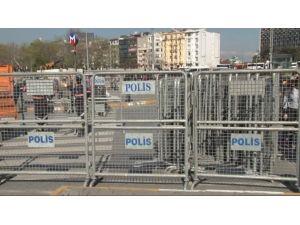 Taksim Meydanı'nda '24 Nisan' Önlemleri