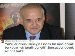 'Bursaspor Göçük Altında Kaldı'