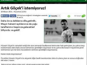 Bursaspor'un Hakeme Öfkesi Dinmiyor