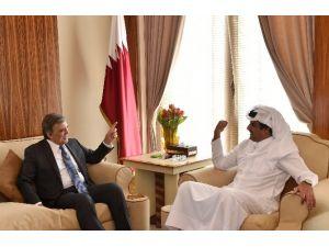 Eski Cumhurbaşkanı Gül Katar Emiri İle Görüştü