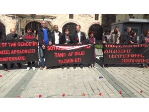 İstanbul'da '1915 Olayları' Yürüyüşü