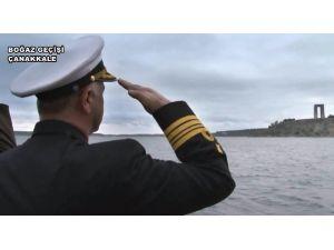 Deniz Kuvvetleri Komutanlığı'ndan Çanakkale İçin Etkileyici Klip