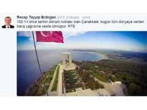 Cumhurbaşkanı Erdoğan'dan Fotoğraflı Paylaşım