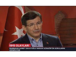 Davutoğlu: İlk Şehrin Erzurum Ve Sivas Olmasına Özel Bir İtina Gösterdik