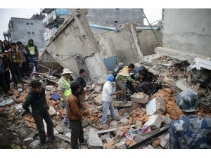 Türkiye Nepal'e Arama Kurtarma Ekibi Gönderdi