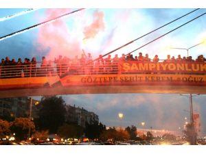 İzmir'de Göztepe Sevinci