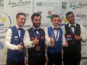 Avrupa 3 Bant Bilardo Şampiyonası'nda Büyük Başarı