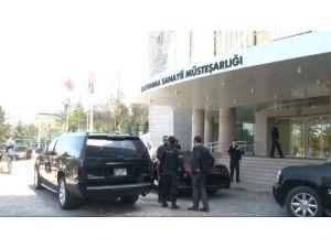 Davutoğlu'nun Başkanlık Ettiği Toplantı Sona Erdi