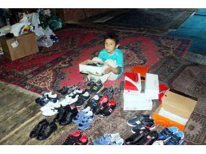 1 Çift Ayakkabı İstedi 70 Çift Geldi
