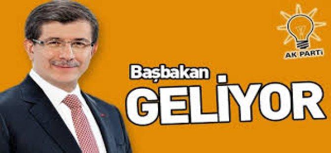 Başbakan Davutoğlu Geliyor