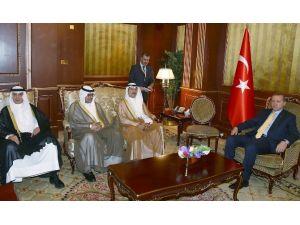 Erdoğan Arap İş Adamlarıyla Görüştü