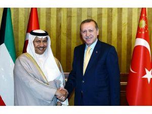 Kuveyt Başbakanı İle Görüştü