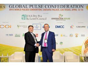 Dünya Bakliyatının Başına Türk Başkan