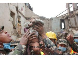 Nepal Depreminin Simgesi Oldu