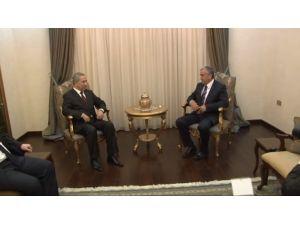 Kktc Cumhurbaşkanı, Bülent Arınç'ı Kabul Etti