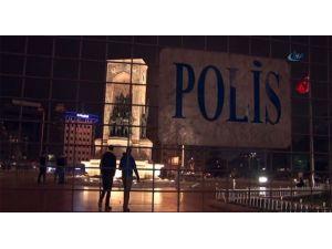 Taksim Meydanı'nda Bariyerli Önlem!