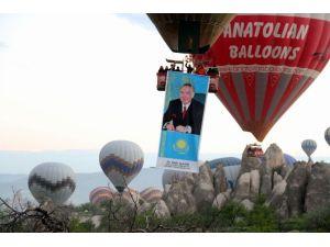 Nevşehir'den Kazakistan'a Balonlu Selam