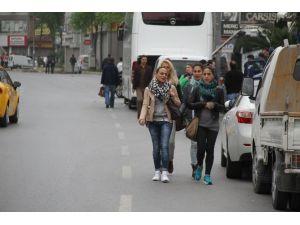 Turistlerin 1 Mayıs İle İmtihanı