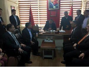 Milli Savunma Bakanı Chp'yi Ziyaret Etti