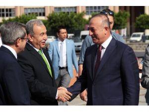 Dışişleri Bakanı Adana'da