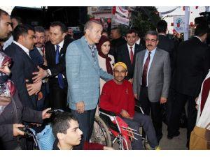 Erdoğan, Engelli Vatandaşları Dinledi