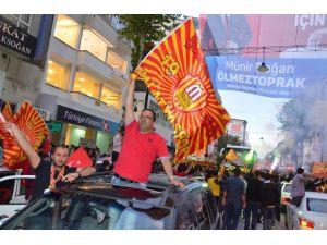 Yeni Malatyaspor'da Şampiyonluk Kutlamaları