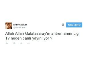 Ahmet Çakar'dan Şok Tweet