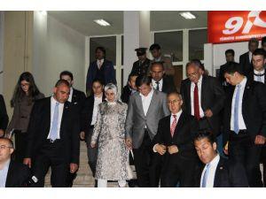Davutoğlu Mhp Seçim Bürosunu Ziyaret Etti